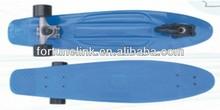 plastic longboards wholesale penny skateboards 3 wheels skateboard (FL-2807A3W)
