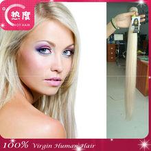 hot hair brand fashionable blonde virgin hair 613 noble gold weave