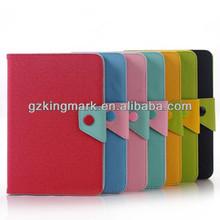 PU leather case for ipad mini, MOZ folio leather case for ipad 2 3 4