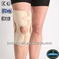 multidirecitonal neoprene material design patela abra joelho aberta com design ortopédico sustentação do joelho