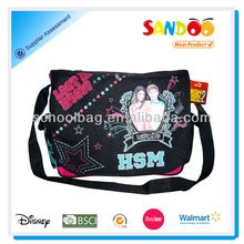 2014 China factory fancy high school music messenger bags for teens