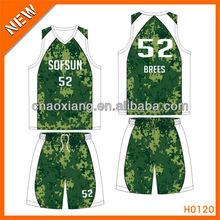 100% polyester basketball shirt for league