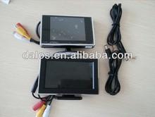 "Hot 3.5""car dash board lcd reverse monitor stand alone car monitor"