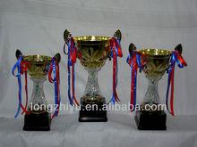 Crystal flame trophy award medals medallion badge manufacture