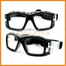 Clear PC Lens Basketball Prescription Eyewear With 100% UVA Protection