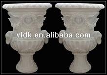 Antique Large Stone Urns,Stone Vase,Stone Planter