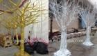 artificial plastic dry tree branch/PU dry branch