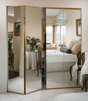 Aluminium mirror, full body mirrors, frameless mirrors with beveled edge