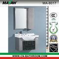 Espejo de cuarto de baño vanidad muebles de acero ma-8017