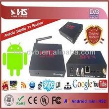 novedades android dvb-s2 XBMC smart tv satellite decoders nagra 3 Support iks&iptv az android mini hs2