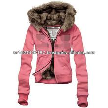 Women Winter Unique Thick Fur hoodies