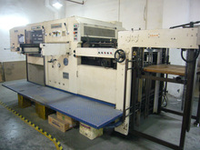 Automatic die cutter and creasing machine carton/papercard