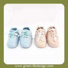 Elegant cute ceramic shoe baby shower