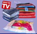 reutilizables de plástico grande de almacenamiento comprimido bolsa como se ve en la tv