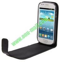 Crazy Horse Texture Flip Leather Case for Samsung Galaxy S3 Mini