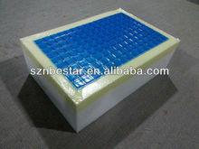 tissu tricoté et lavable matelas de gel de silicone