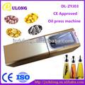 Best seller dl-zyj03 in acciaio inox olio di cocco macchine mulino a olio per macchine mulino