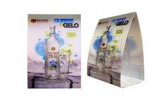 3D lenticular publicidade barraca da tabela cartão