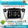"7""LSQ Star Android 4.0 Auto Navigation For Hyundai Tucson / Ix35 2009-2012 With A10 Cpu 4g Flash 3d Ui 1g Memory 3g Wifi"