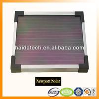 Anodizing silver solar aluminum alloy frame