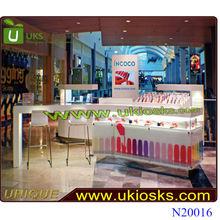 * Colorful life * kiosk nail, nail polish wood furniture bring many joy feelings