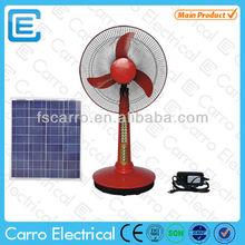 Novelty desk fan remote control desk fan electric desk fan DC-12V16A2