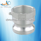 aluminum camlock cam and groove quick coupling type A