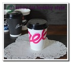 China double wall paper coffee cups