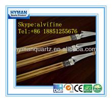 Energy saving short wave infrared quartz heater tube,energy saving infrared parts