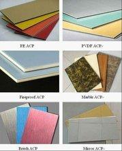 PVDF / PE Coating Construction Aluminum Composite Material Boards acm / acb