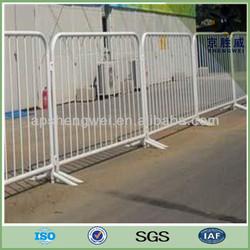 Hot-dip galvanized steel road barricade