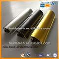 Oro blanco negro colores con recubrimiento de polvo de aluminio perfil de marco