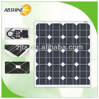 High quality mono small solar panel 50 watt for sale