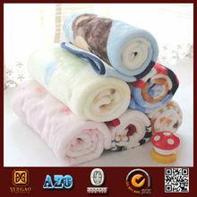 Cildren sheep wool heavy fleece blanket