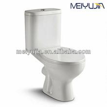 Sanitary ware ceramic washdown two-piece types of toilet bowl cleaner freshener
