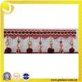 Indonésie marché frange, Perles pompon pompon