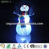 hot sell Christmas snowman / led Christmas gift
