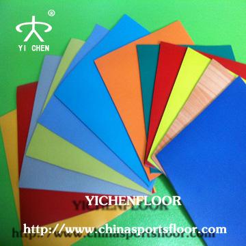 volleyball/ futsal/Tennis/Basketball/badminton/table tennis plastic floor mat