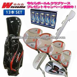 *christmas special offer*[golf club] Wistella golf club set 13pc(1W,3W,5W,UT,5-SW,PT)