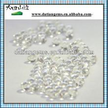 Natural crystal quartz round facet briolettes hot precious white needle crystal ursolic acid