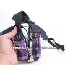 fashion chaqueta cloth case For Phone 5 5G phone5 Cow Boy Jeans Retro + TPU CASE Purse Book Pouch pouches Skin