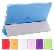 For ipad mini 2 retina 2 in1 smart cover + back case