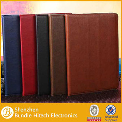 Good quality Retro Leather cover case for iPad 5 air