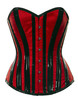 Gothic Red/Black Overbust Corset