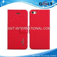 2013 New product hot sale stand wallet flip leather case for iphone 5 with Oracle pattern