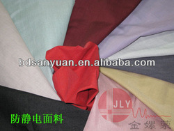 276g polyester&high cotton anti-static twill system canvas