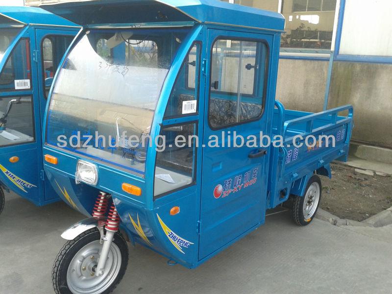 cargo rickshaw with mini dump bed
