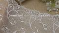 Nuevo y elegante diseño decorativo recorte de encaje, cordón elástico telas