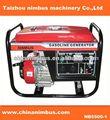 Marca OEM uso doméstico gerador a gasolina portátil trifásico gaiola de esquilo motores de indução