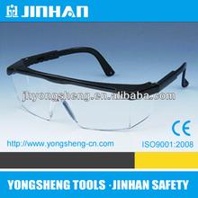 jinhan brand delicate design 2012 style ce ansi standard safety goggle